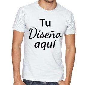 Camiseta polialgodon y poliester