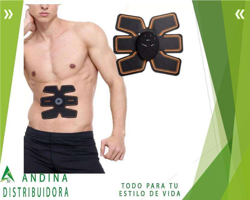 Electroestimulador Muscular Six Pack Ems Abdomen Perfecto