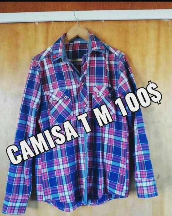 Camisa Hombre T M