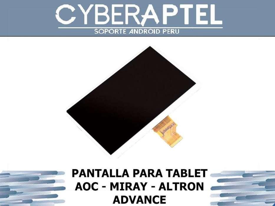 PANTALA PARA TABLET AOC MIRAY ADVANCE ALTRON