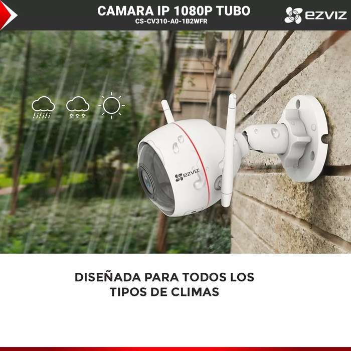 camara wifi 1080 2megapixeles audio y video microfono