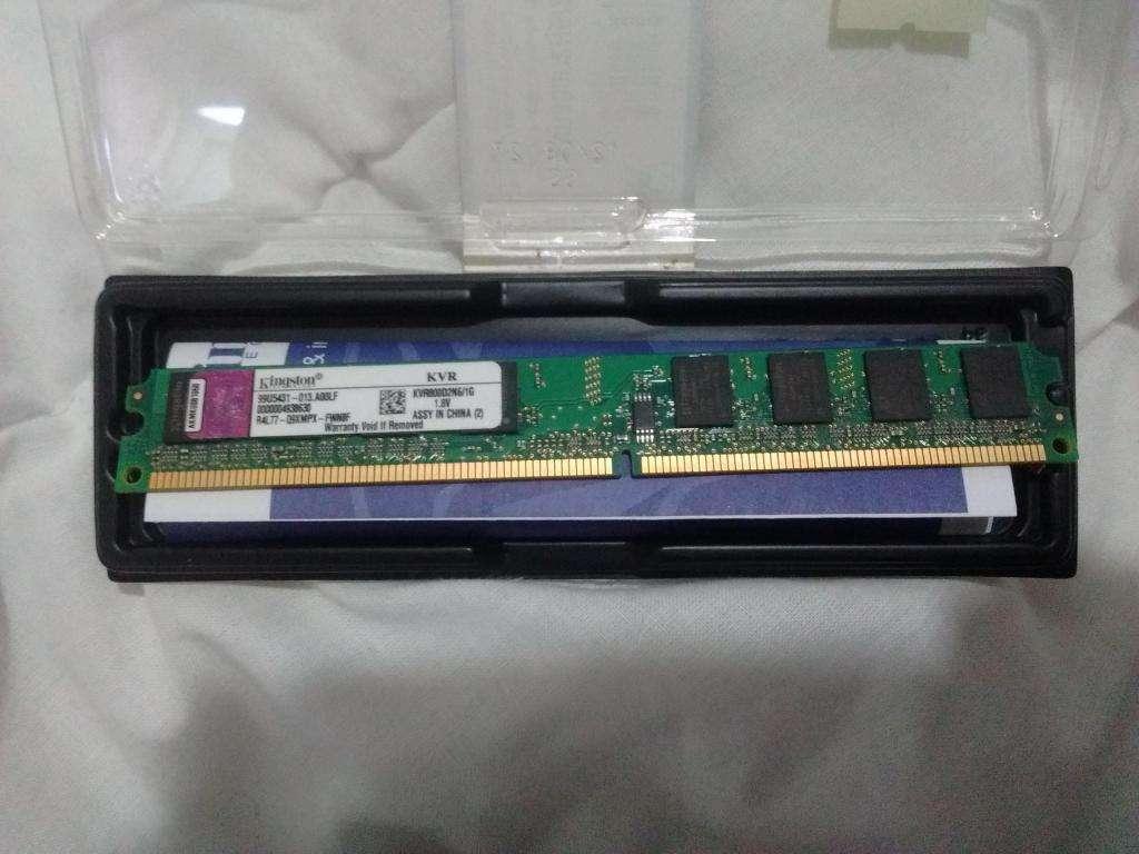 RAM DDR2 1GB Kingtons Usada pero en Excelente estado