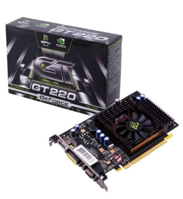 Tarjeta Gráfica Nvidia Geforce Gt220 1gb