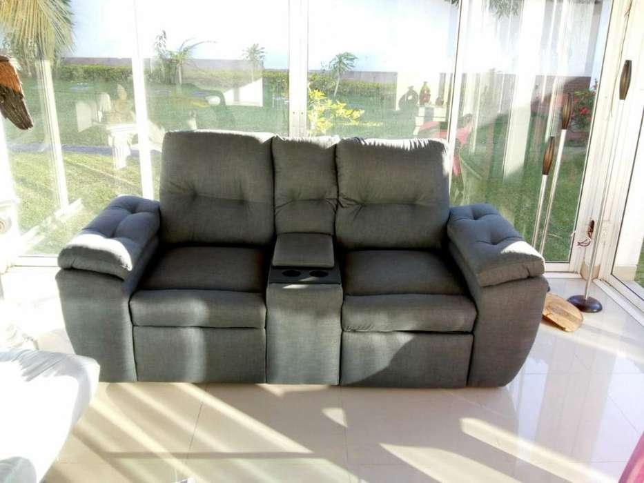 Sofa Reclinable de Dos Puestos