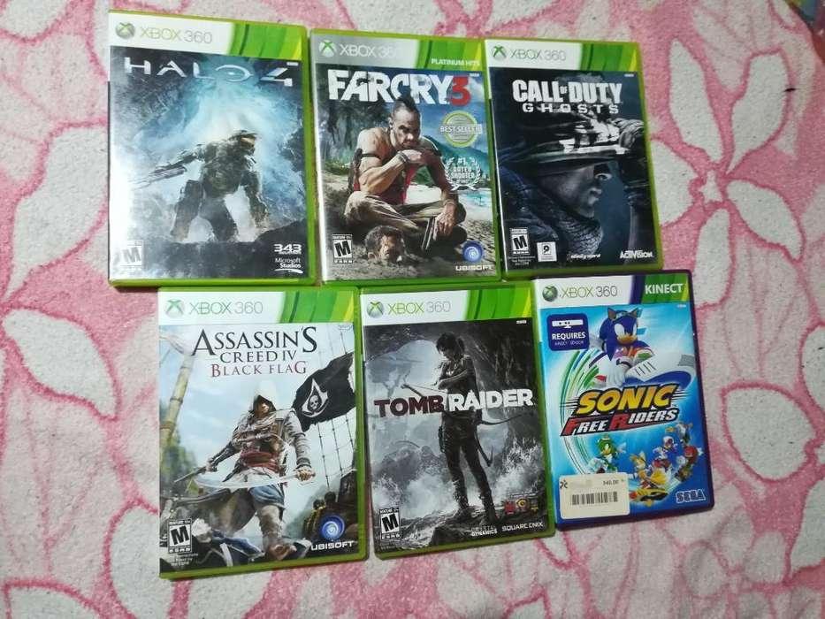 Juegos Xbox 360 Como Nuevos
