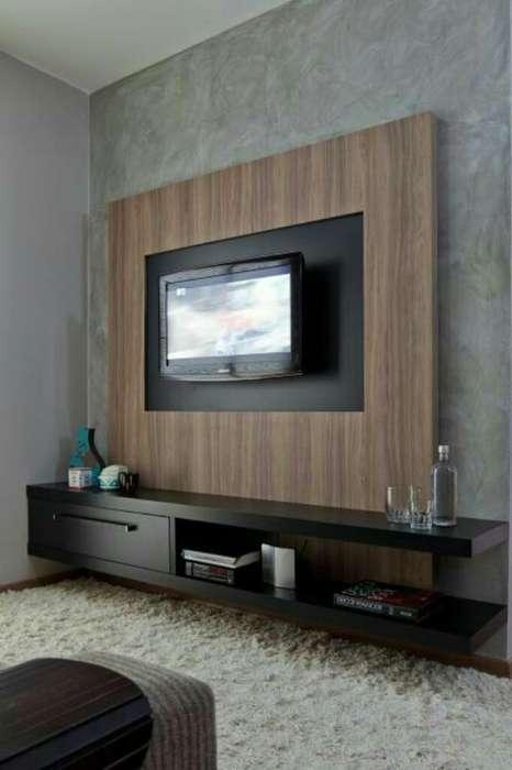 Mueble de Entretenimiento Moderno