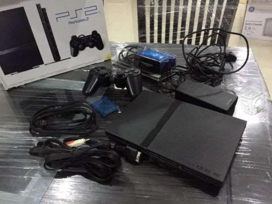 Play Station 2 Ps2 Slim Buen Estado