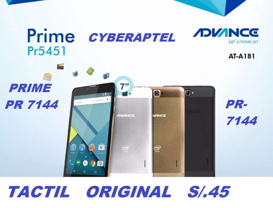 TABLET ADVANCE PRIME PR 7144 REPUESTO TACTIL