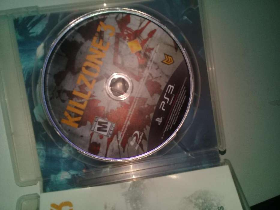 vendo killzone 3 para play 3
