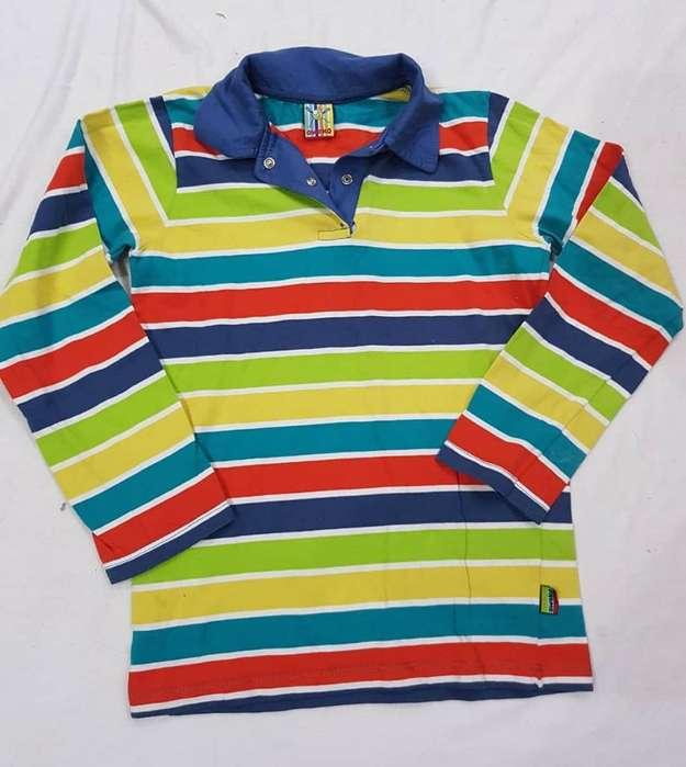 Camiseta Nene Talle 8 Impecable