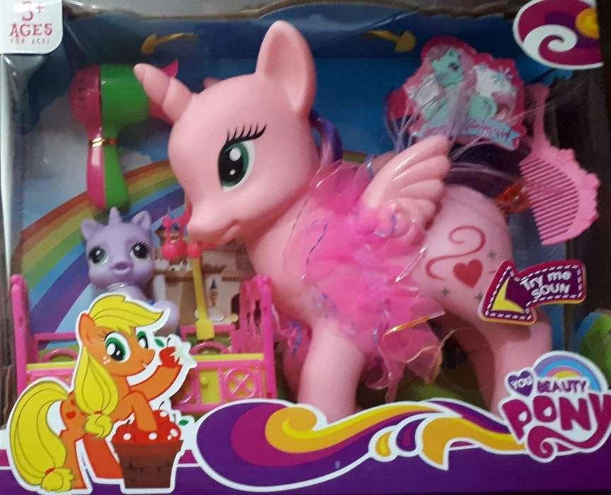 Beauty Pony con Luz Y Sonido