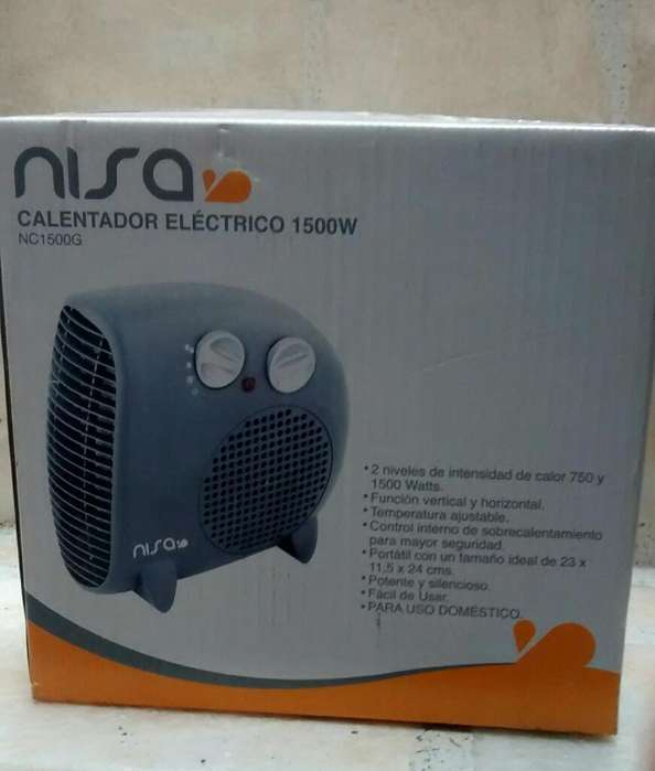Calefactor Electrico Portatil