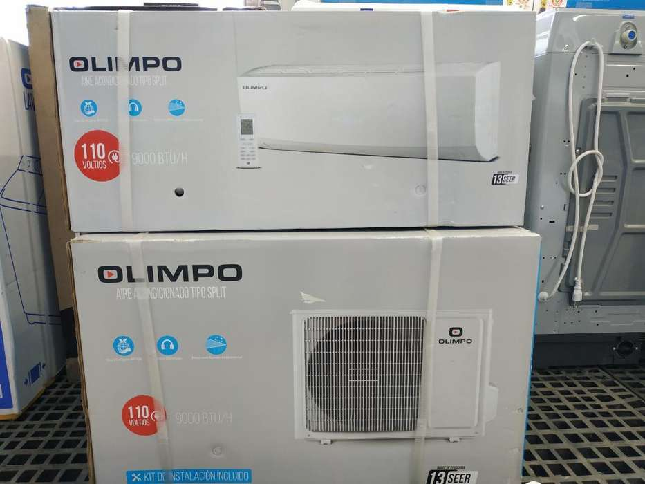 Aire Olimpo 9000btu 110 V