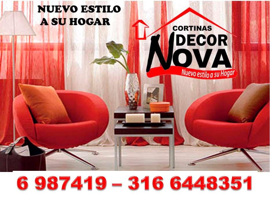 Cortinas elegantes y exclusivas Bucaramanga