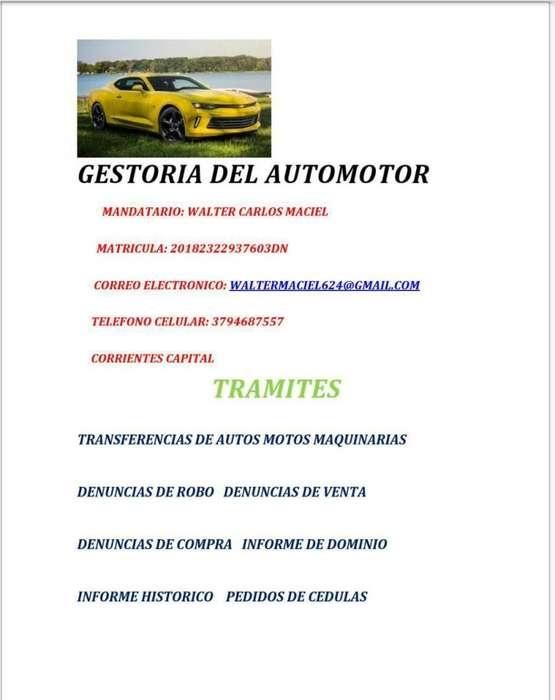 GESTORIA DEL AUTOMOTOR MOTOVEHICULOS