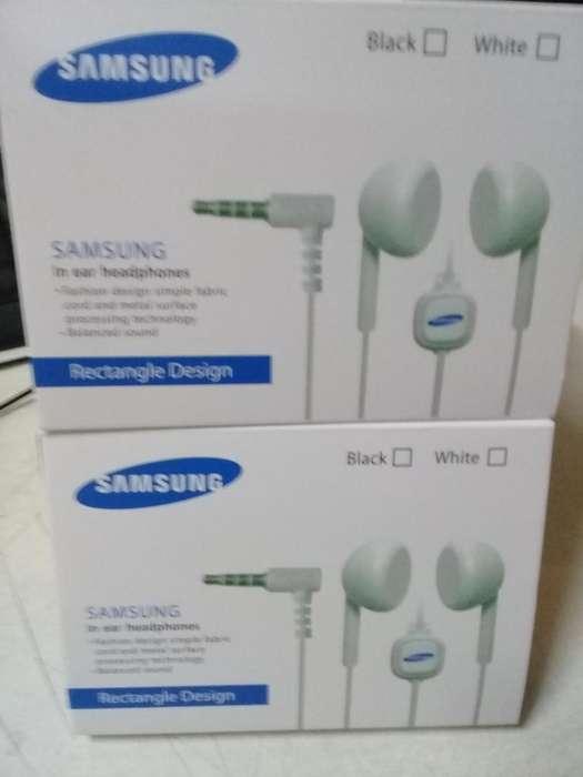 Auriculares Samsung , manos libres , excelente calidad