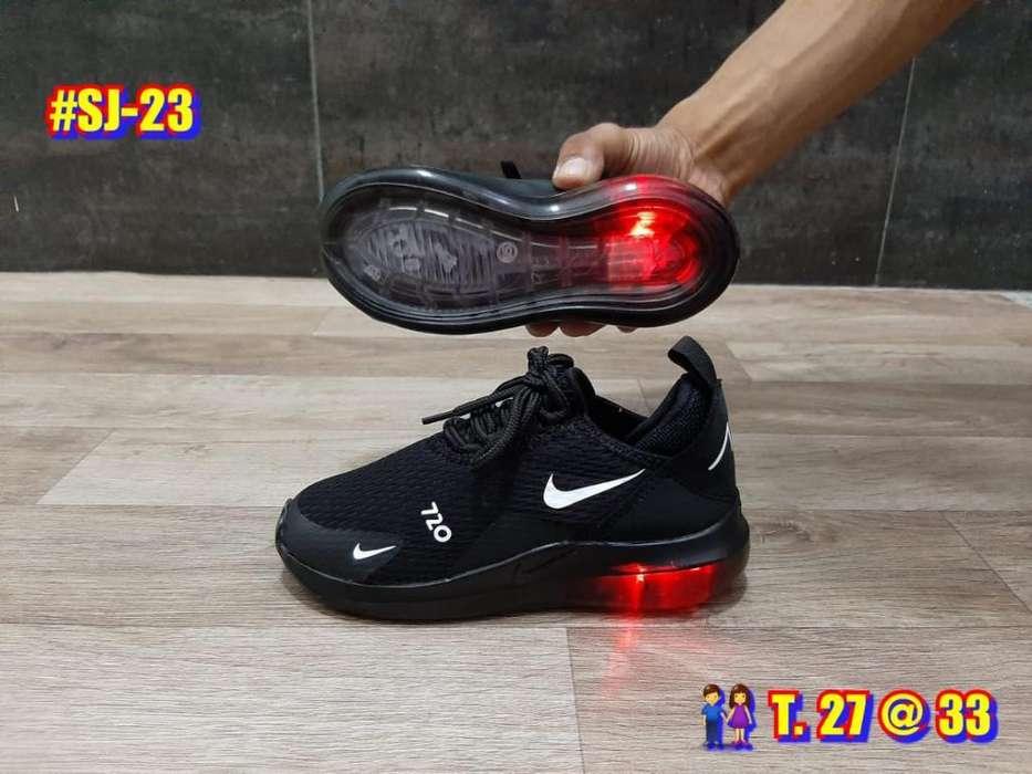 Modelo Nike 720 Niños de Luces Del 21 33