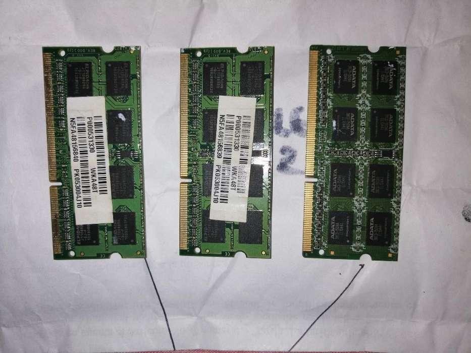 Memorias Ram para Pc Portatil