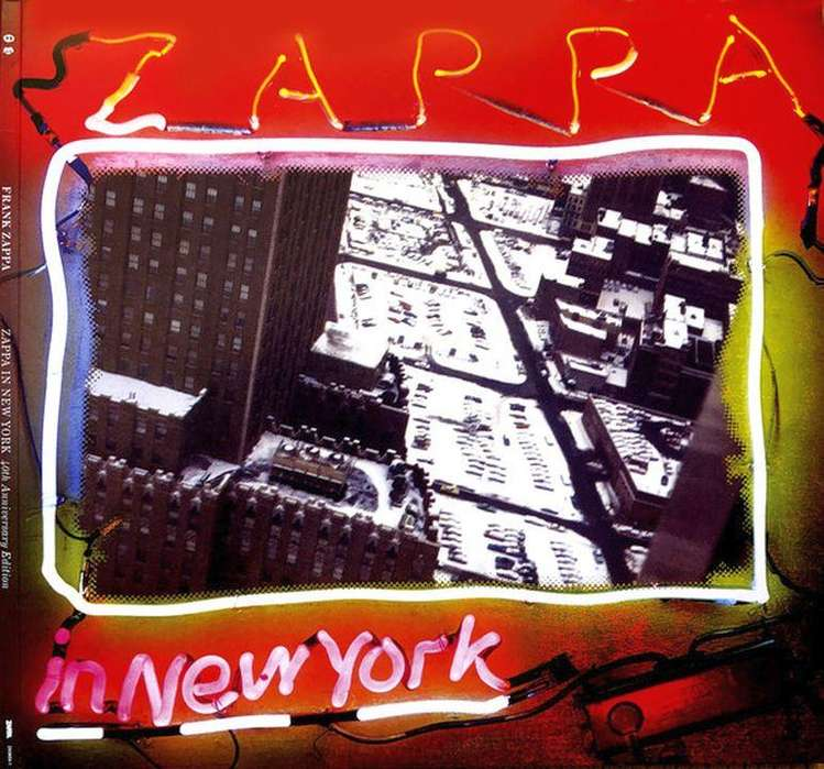 Álbum triple LP vinilo Zappa In New York (40th Anniversary Edition)