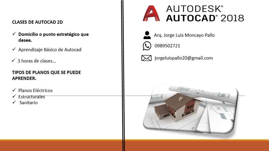 Clases de Autocad en Guayaquil .!!!!