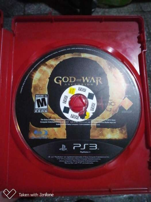 Vendo O Cambio God Of War Ascension