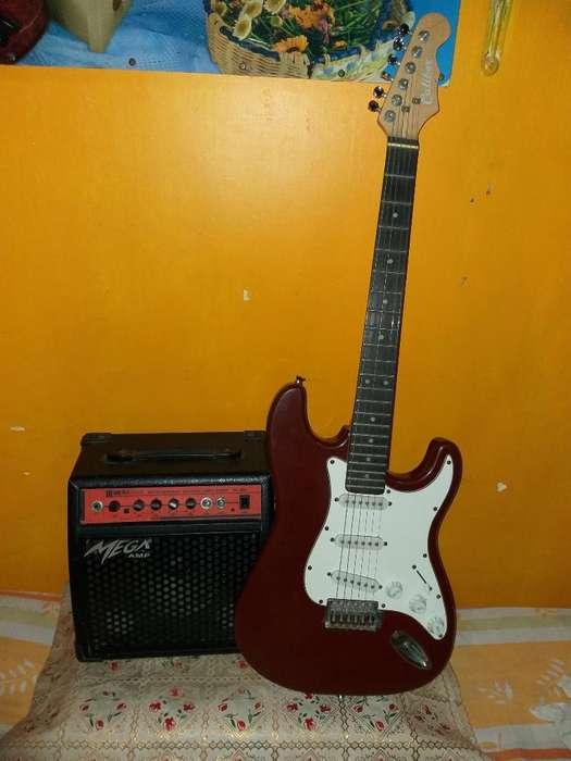 Guitarra Eléctrica Amplificador