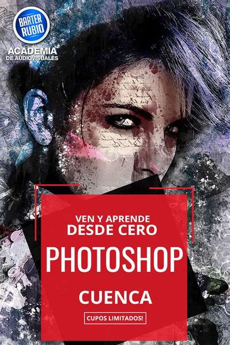 CURSO PROFESIONAL DE PHOTOSHOP EN CUENCA