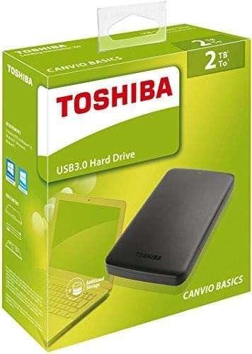 Disco Duro 2 Teras Externo Toshiba Usb 3.0 Portatil