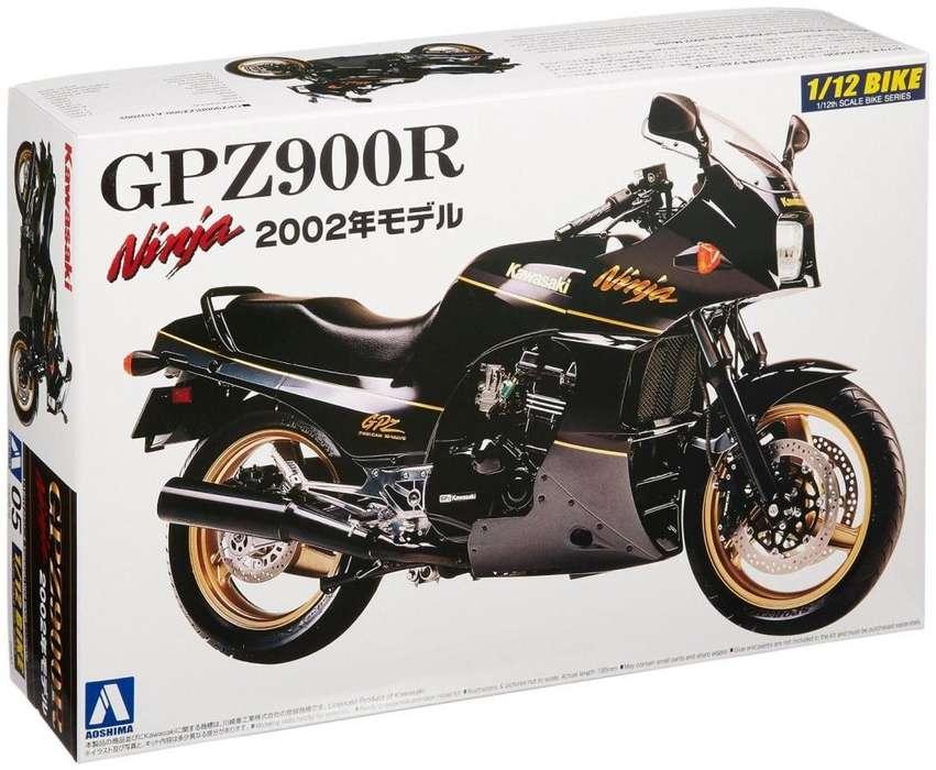 Aoshima Kawasaki Ninja GPZ900R 1/12