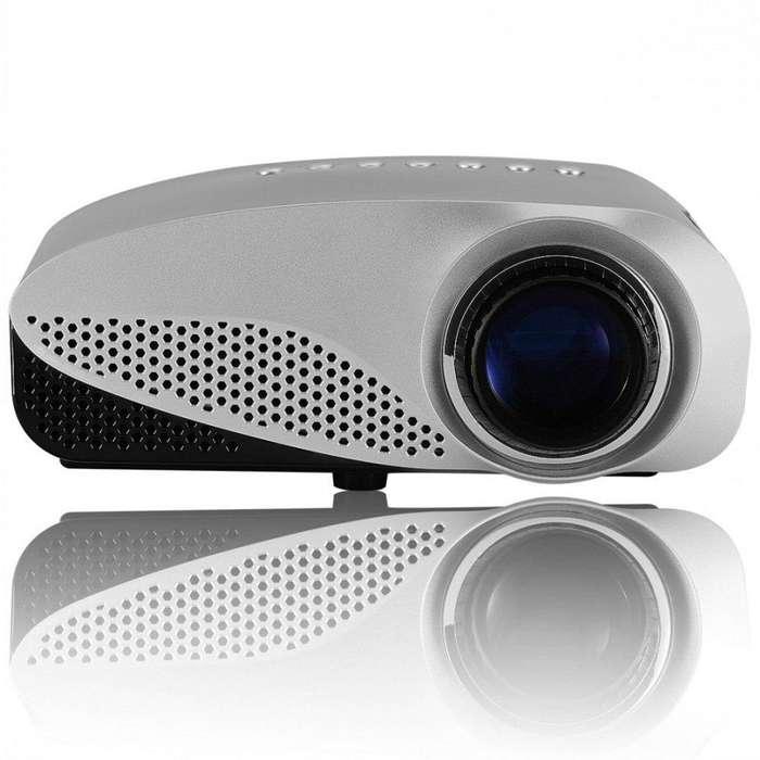 Proyector LED Vivibright GP8S 120 Lumens 480x320 USB SD