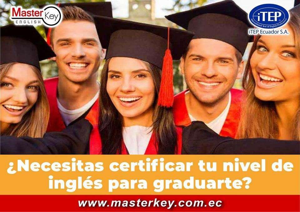 Certificate en nivel B2 de suficiencia en Esmeraldas con Master Key