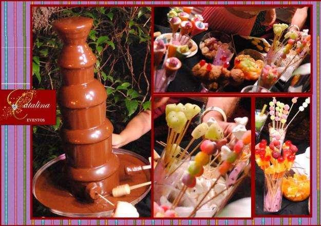 12 CUOTAS SIN INTERES!! CASCADA DE CHOCOLATE EN MENDIOLAZA