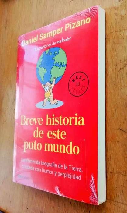 Best Seller Libro Breve Historia de Este Puto Mundo Daniel Samper Pizano