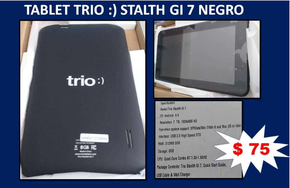 TABLET TRIO :) STALTH GI 7 NEGRO