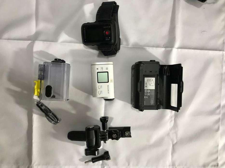 Sony Act Cam As100v <strong>accesorios</strong> - Como Nueva Perfecto Estado Gopro
