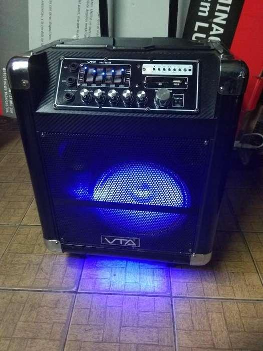 Amplificador de sonido portatil Bluetooth
