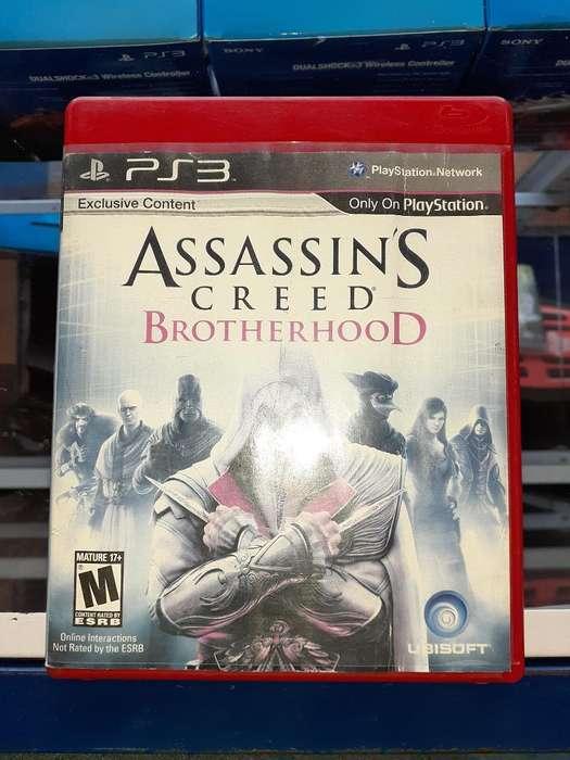 Assassins Creed Brotherhood para Ps3