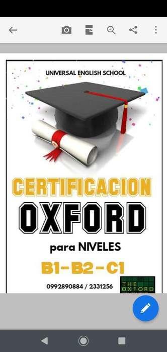 Certifica Tu Nivel de Inglés