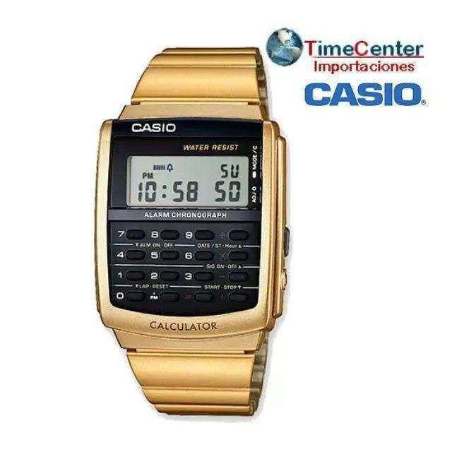 Reloj <strong>casio</strong> con Calculadora, Hombre y Mujer Ca-506