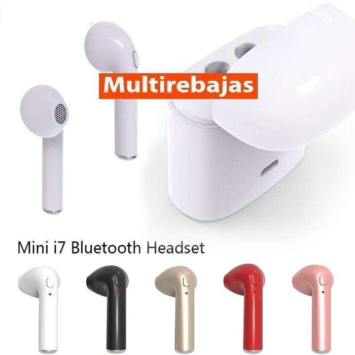 Audífonos I7s Tws Bluetooth Manos Libres Con Base De Carga.