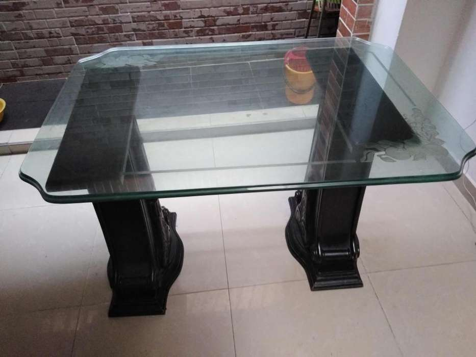 Bases de <strong>comedor</strong> y vidrio