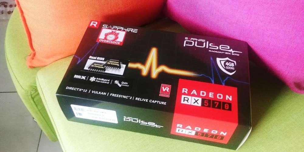 Vendo Tarjeta de Video Rx 570 Nueva