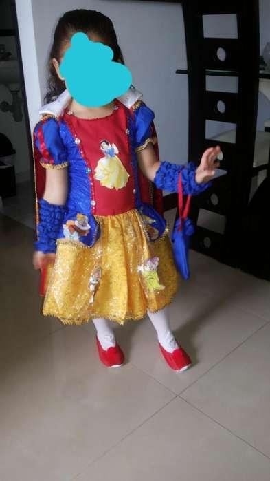 Disfraz Blanca Nieves