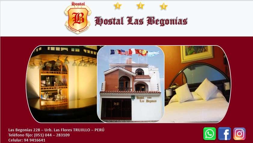 HOSTAL - HOTEL - HOSPEDAJE - EXCELENTE SERVICIO -