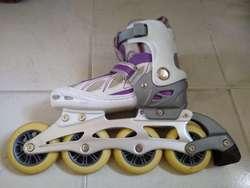 patines semiprofesionales, como nuevos