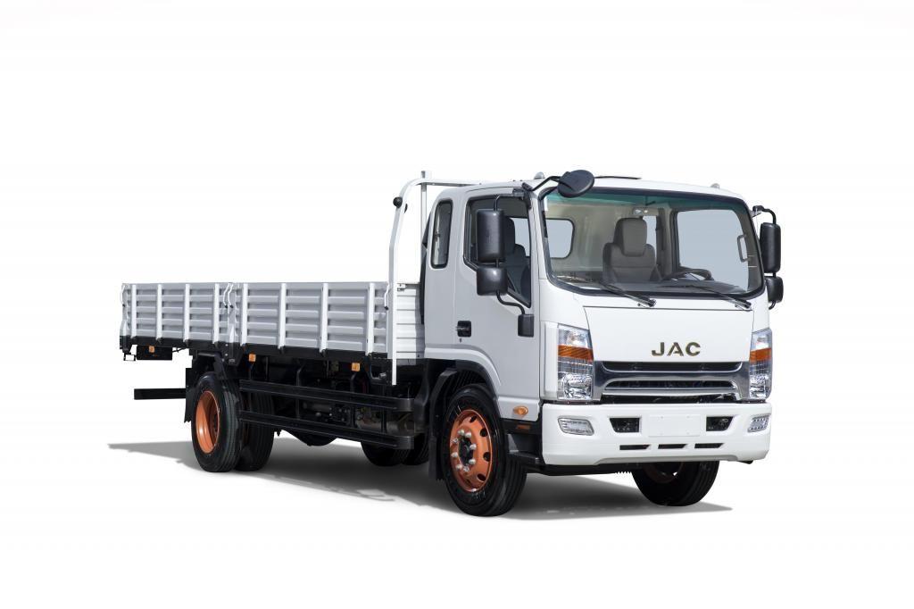 Camión JAC 9 Toneladas con Baranda VIP Euro 4 - SD800L BAR VIP E4