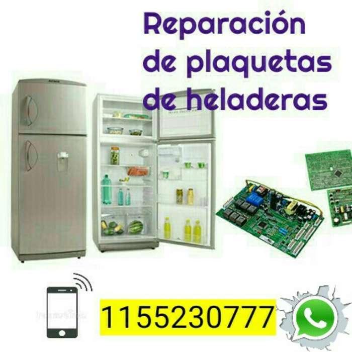 Reparacion de Plaquetas de Heladeras.