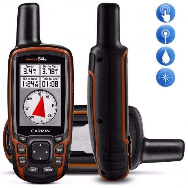 GPS GARMIN GPSMAP 64s CON LOS MAPAS ACTUALIZADOS DE PERU, NUEVO en TIENDA FISICA