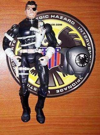Marvel legends Nick Fury Gi joe motu heman dc universe star wars