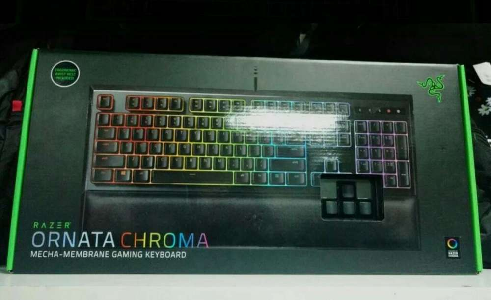 Vendo Teclado Marca Razer Ornata Chroma